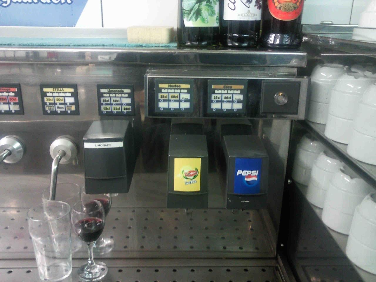Tourelle Bieres, Vins, Sodas