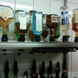 Rampe 6 bouteilles