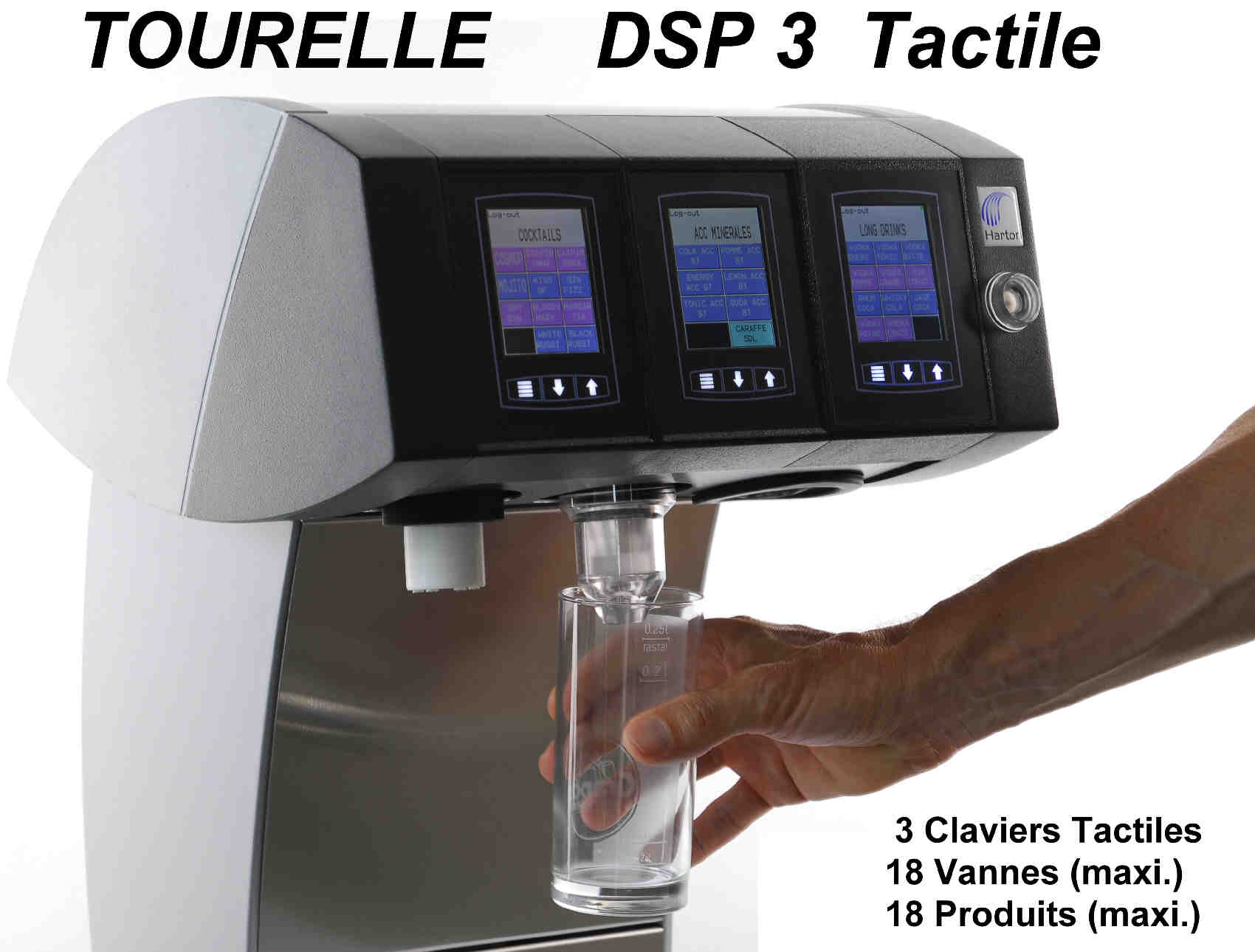DSP 3 touch